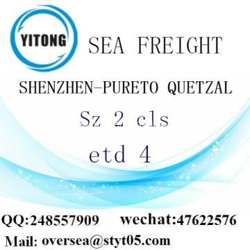 Shenzhen Port LCL Consolidation To Pureto Quetzal