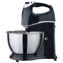Electric food mixer with stand