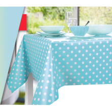 dot design PVC waterproof party decoration table cloth