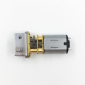 Intelligent electronic door lock 12V dc gear motor