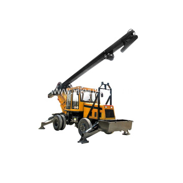 85KW-126KW Trailer Type Rotary Drilling Rig