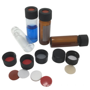 Glass Autosampler Vials with 13mm Ptfe Silicone Septa