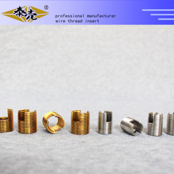 High precision fasteners self tapping threaded inserts