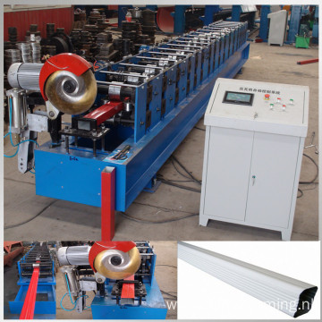 rain gutter pipe making machine