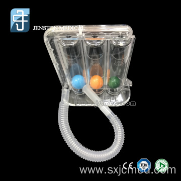 Medical Three Balls Spirometer for Breathing Trainer