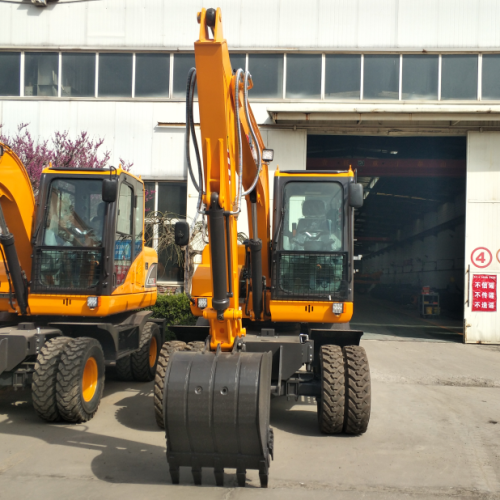 6 Ton wheel excavator for sale 0.3cbm bucket wheel excavator
