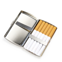 Aluminum Alloy Cigars Cigarete Case Portable Pocket Tobacoo Box Holder Storage Container Gift Box Smoking Accessories Wholesale