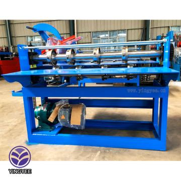 Simple sleet plate slitting roll forming machine