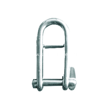 Stainless Steel Long D Shackles For Trailers
