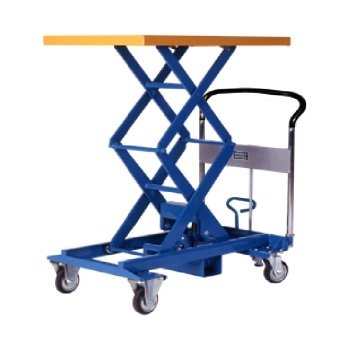Mobile lift table equipment