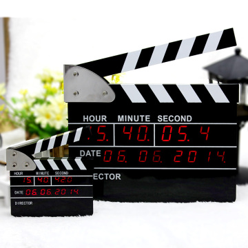 Diseño original The Movie Clap Digital Clock