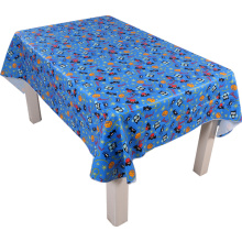 Tablecloth PE with Needle-punched Cotton Halloween Design