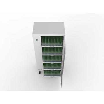 Security locker LED light iPads charging cart