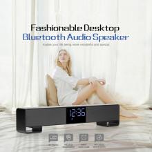 LED Display Soundbar TV Bluetooth Speaker Barra De Sonido Para PC Home Theater System AUX TF USB Alarm Clock Bass Subwoofer USB