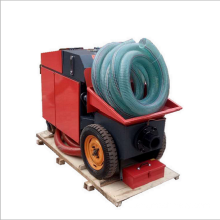 Remote control concrete mortar pump