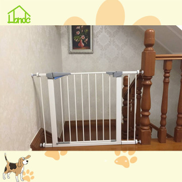 pressure mounted baby gate with door