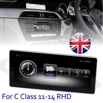 RHD radio replacement for C CLASS 11-14