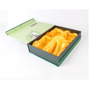 Deluxe Custom Tea Bags Cardboard Magnetic Packaging Box
