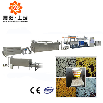 Nutritional rice porridge instant porridge making machine