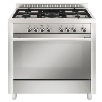 5 Burner Gas Cooker with Oven Freestanding