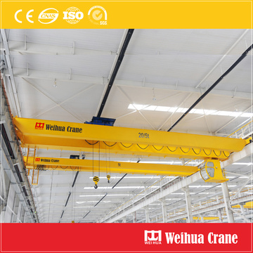 Double Girder Overhead Crane With Hoist