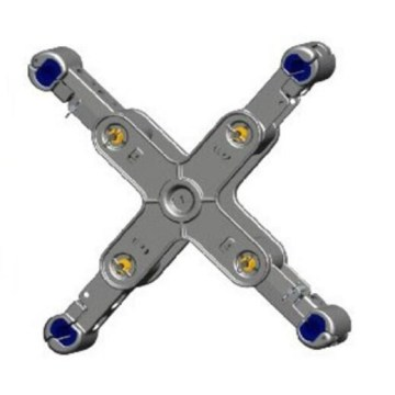 JZX Aluminium Alloy Cross Spacer-Dampers For 500KV Line
