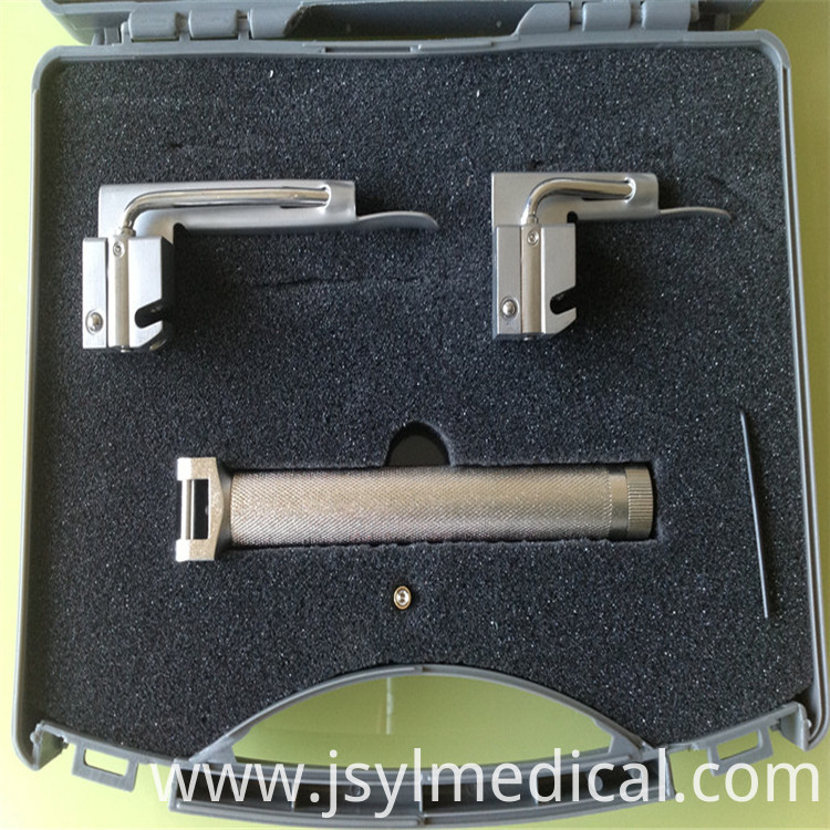 Fiber Optic Laryngoscope