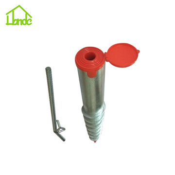 Small Steel Umbrella Anchor for Fishing Pole