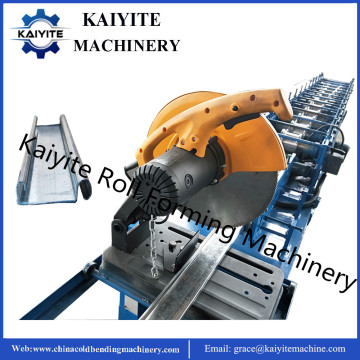 Fly Saw Cutting Shutter Door Roll Forming Machine
