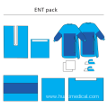 Disposable Surgical ENT Packs Medical Surgical Drape Packs
