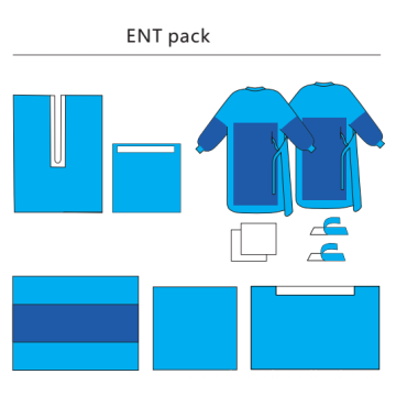 Disposable Surgical Sterile Ent General Drape Pack