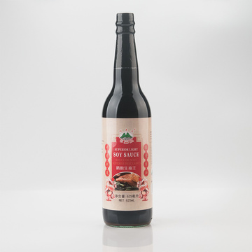 Superior Light Soy Sauce 625ml Glass Bottle