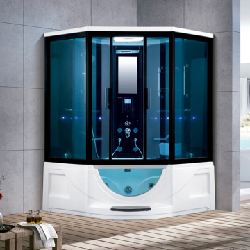 Luxury Indoor Steam Shower Room with TV