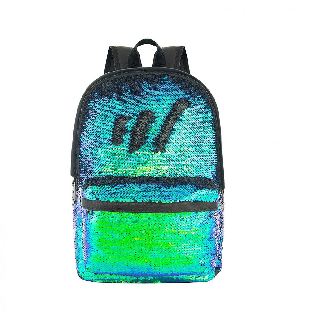 Sequin Backpack 1