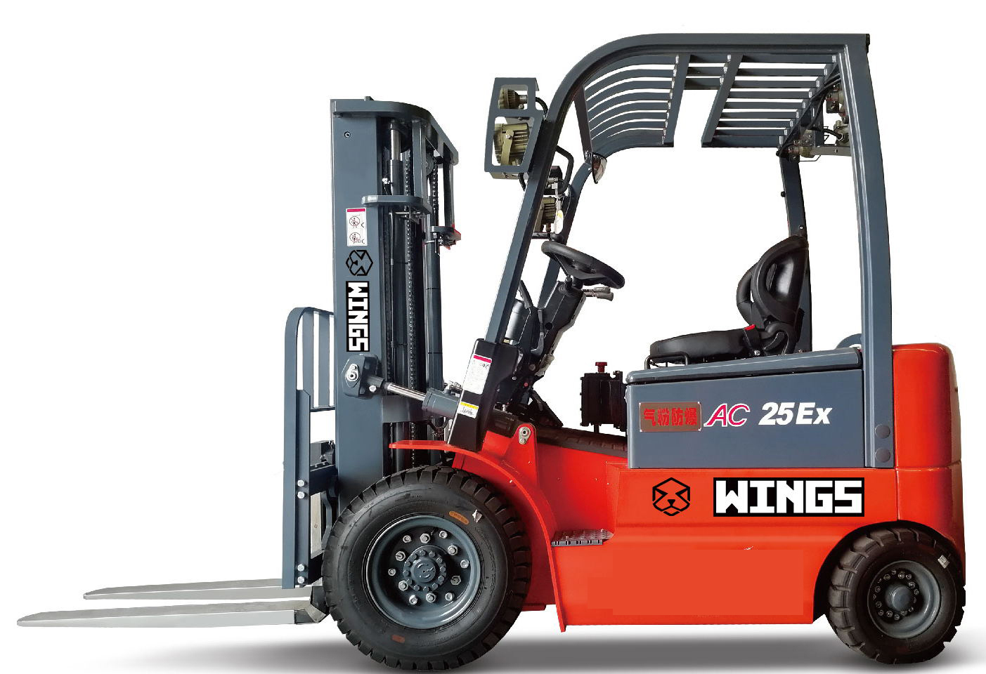 Explosion-proof Electric Forklift 2
