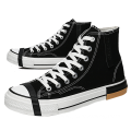 Canvas High top sneakers for men