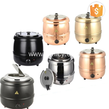Stainless Steel Electric Soup Warming Heating Pot