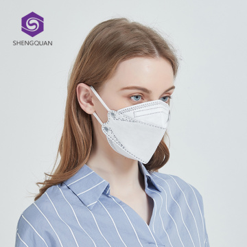 Fast Deliver 5Layer Disposable Folding KN95 Mask