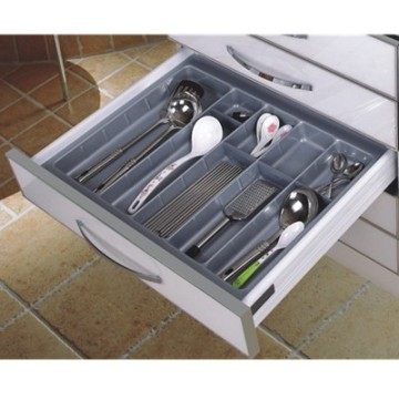 White Kitchen Accessories Cutlery Tray