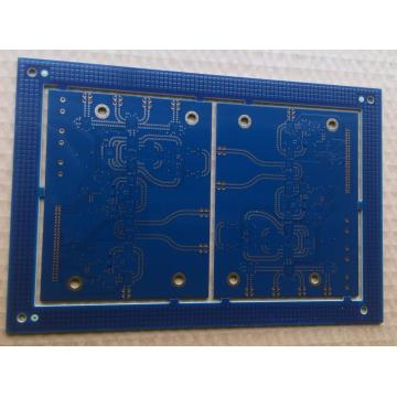 8 layer via in pad PCB