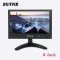 8-inch BNC widescreen 1024X600 HD LCD monitor 16:9 industrial metal enclosure computer HDMI display