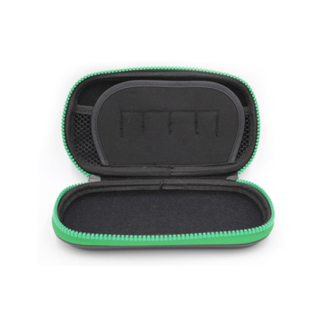 New protective waterproof zipper hard leather game case with logo