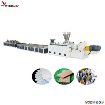 PVC WPC decoration profile machine
