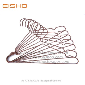 EISHO Luxury Gold Metal Copper Coat Hanger