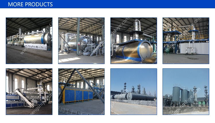 Waste Rubber Oil Refining Machine