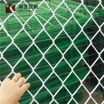 Gold supplier Diamond wire mesh chain link temporary fence