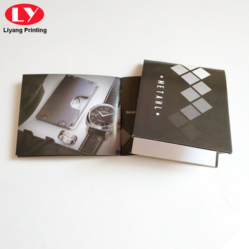 Watch Manual Print Service Recycled Paper Booklet Printing
