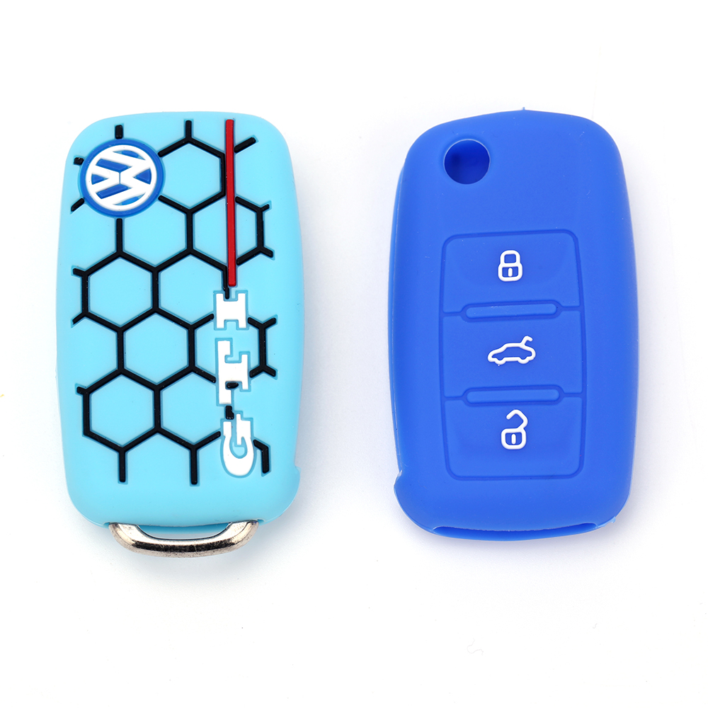 silicone key head fob cover