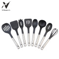 Stainless Steel Handle Kitchen Utensil Set