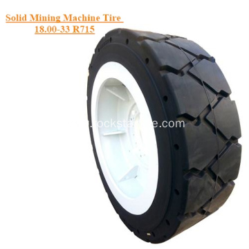 Solid Mining Carriage Machines Tire 18.00-33 R715